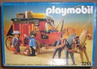 Playmobil - 3245v3 - Wild West Stagecoach