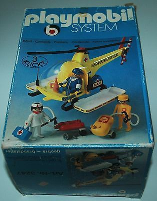 Playmobil 3247v1 - Rescue helicopter - Box