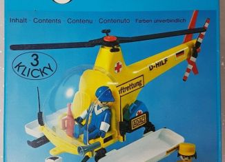 Playmobil - 3247v1 - Rescue helicopter