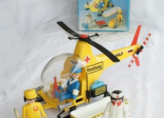 Playmobil - 3247v2 - Rescue helicopter