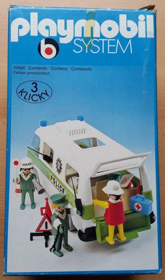 Playmobil 3253s1 - Police Van - Box
