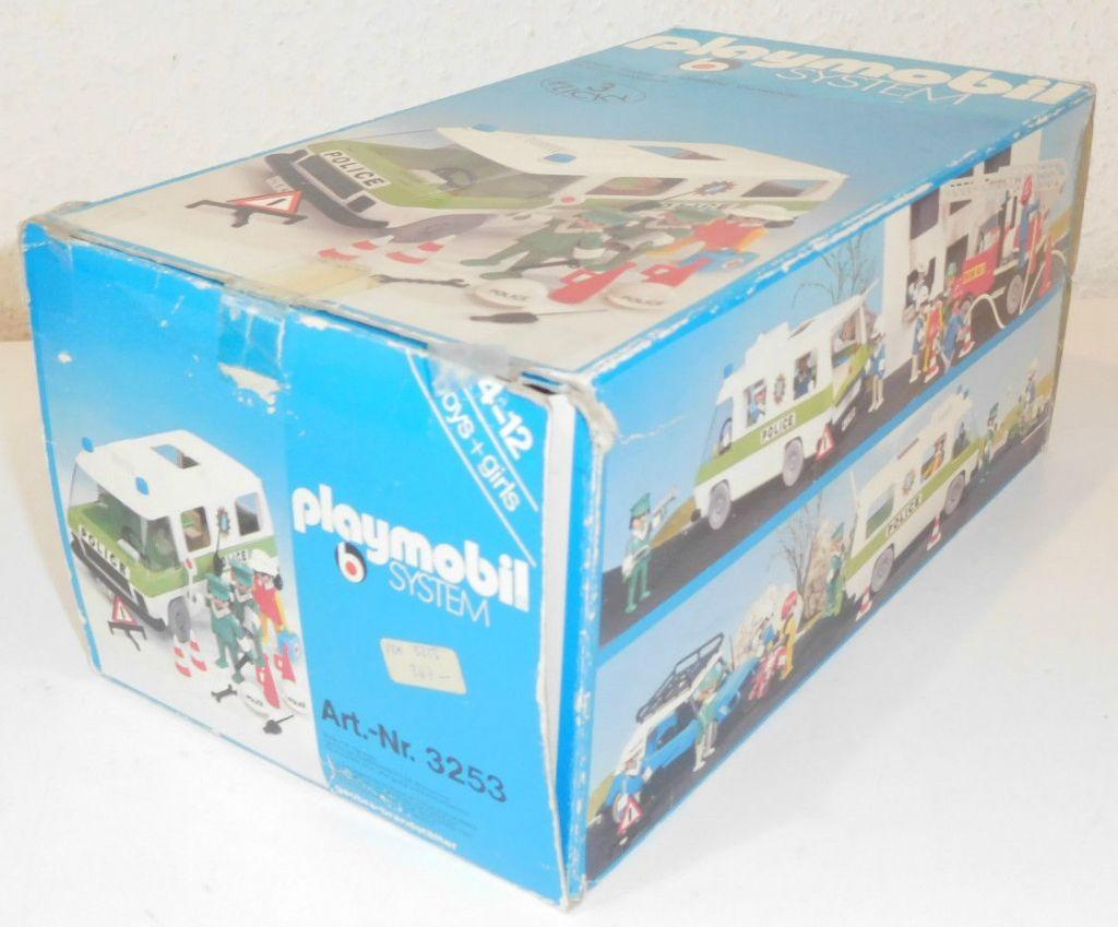 Playmobil 3253s1 - Police Van - Back
