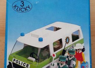Playmobil - 3253s1 - Police Van