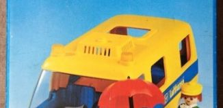 Playmobil - 3255s2 - Airport Van Lufhansa