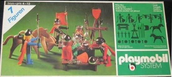 Playmobil 3260s1v1 - Knights Box - Box