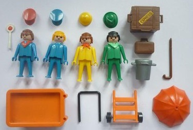 Playmobil 3271v1 - Travellers - Back