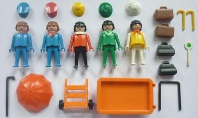 Playmobil 3271v2 - Travellers - Back