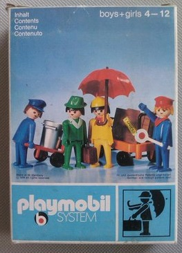 Playmobil 3271v1 - Travellers - Box