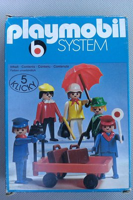 Playmobil 3271v2 - Travellers - Box