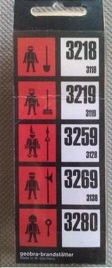Playmobil 3280s1 - Policeman - Back
