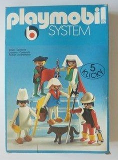 Playmobil 3292 - Townspeople - Box