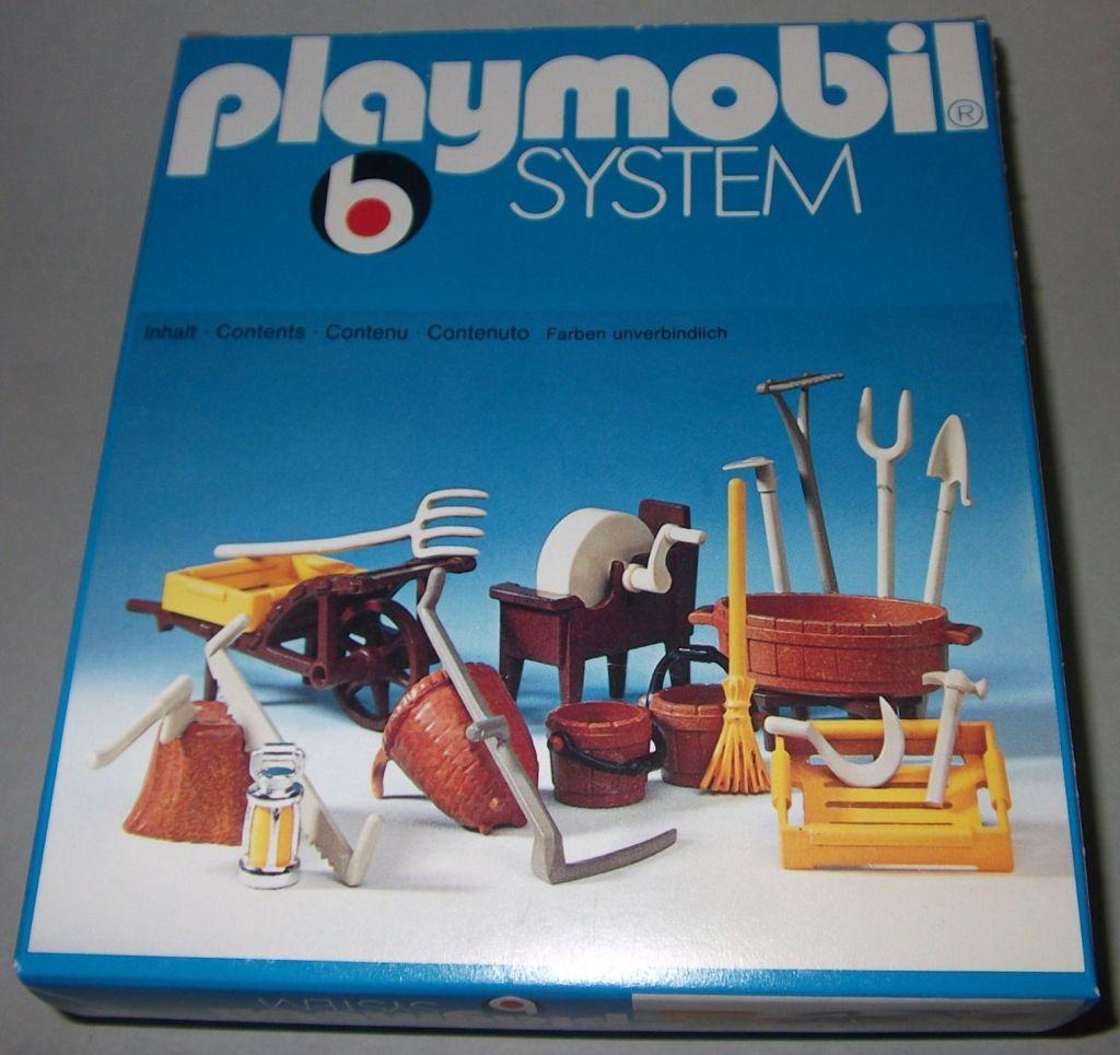 Playmobil 3297 - Farmer's Accessories - Box