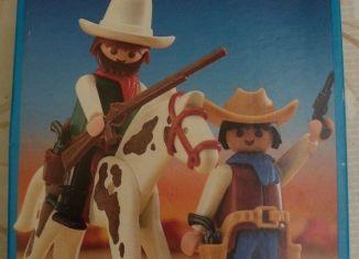 Playmobil - 3304v2 - 2 cowboys / horse
