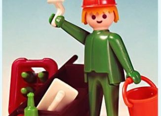 Playmobil - 3312v2 - Construction Worker