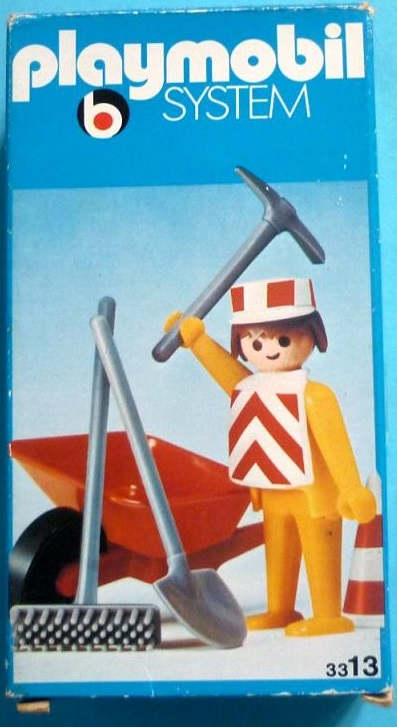 Playmobil 3313 - Construction Worker - Box