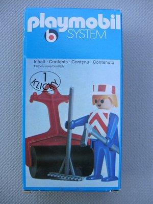 Playmobil 3314v2 - Construction Worker - Box
