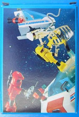 Playmobil 3320-ger - Spaceman - Back