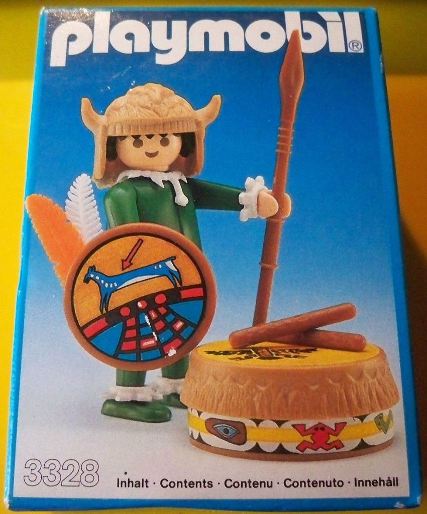 Playmobil 3328s1 - Indian witch doctor - Box