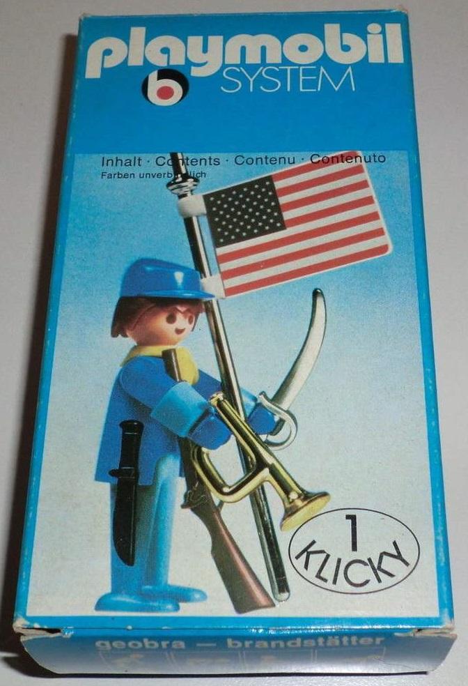 Playmobil 3354 - US soldier & flag - Box