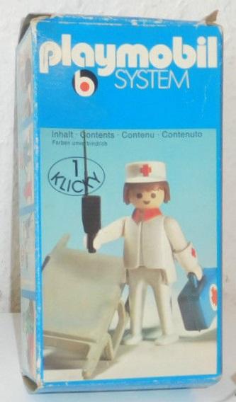 Playmobil 3361 - Nurse / stretcher - Box