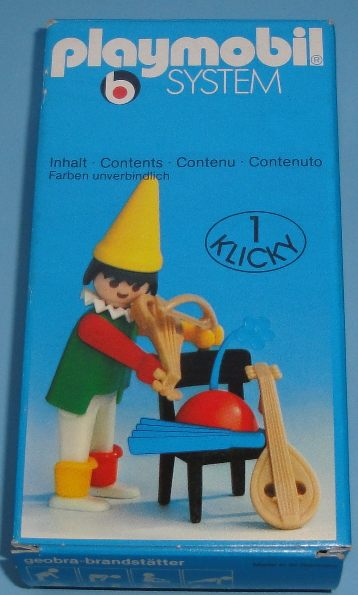 Playmobil 3390 - Circus clown / chair - Box