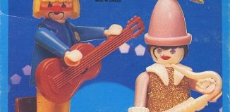 Playmobil - 3392-lyr - Musicians clowns
