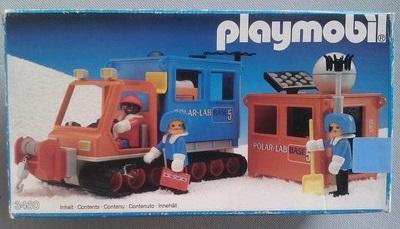 Playmobil 3460 - Artic Lab Vehicle - Box