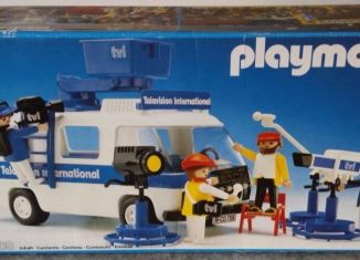 Playmobil - 3468 - Television International van