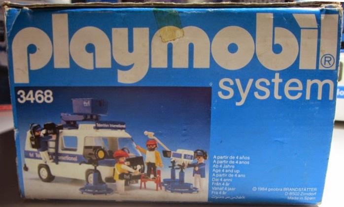 Playmobil 3468 - Television International van - Box