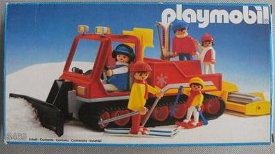 Playmobil 3469 - Snowcat - Box