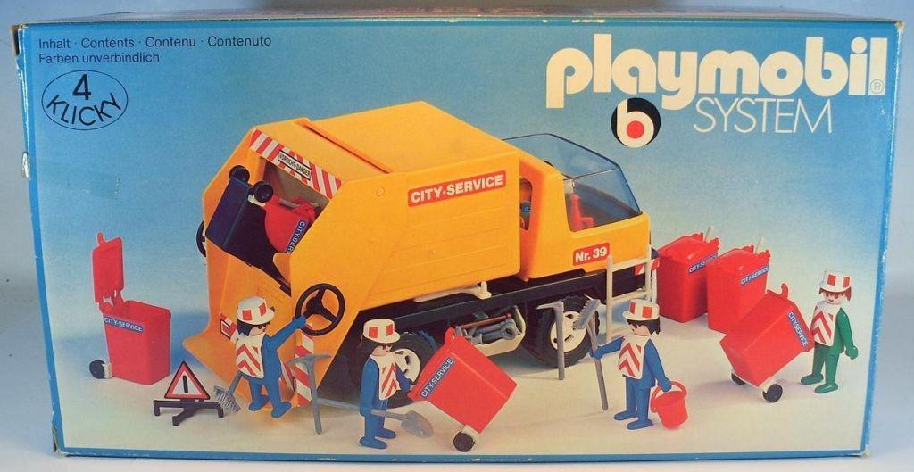 Playmobil 3470v1 - Recycling Truck - Box