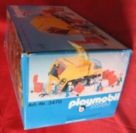 Playmobil 3470v2 - Recycling Truck - Box