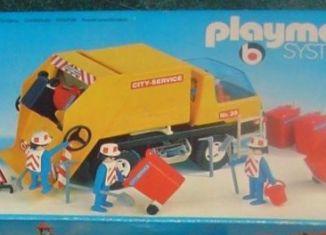 Playmobil - 3470v2 - Recycling Truck
