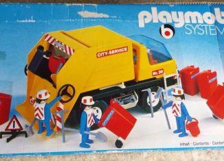 Playmobil - 3470v3 - Recycling Truck