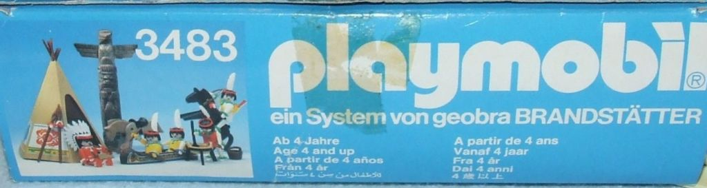 Playmobil 3483v3 - Indians - Back