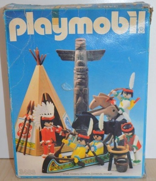 Playmobil 3483v3 - Indians - Box