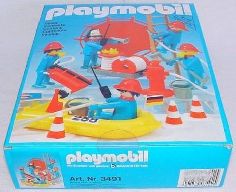 Playmobil 3491 - Firemen - Box