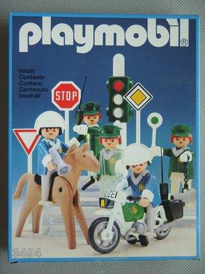 Playmobil 3494 - Police Set - Box