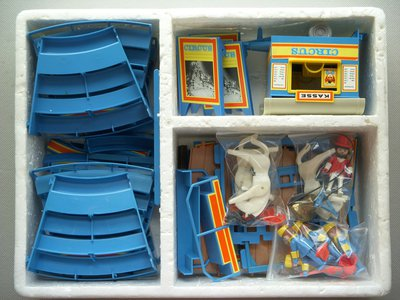 Playmobil 3510 - Circus Arena Blue - Back