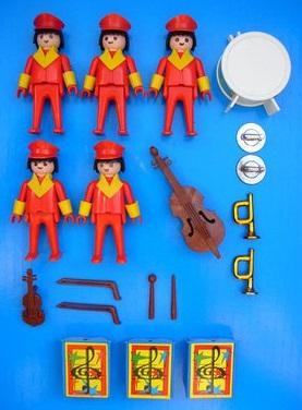 Playmobil 3511v1 - Circus Band - Back