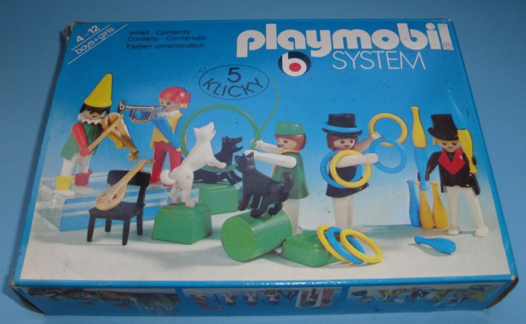 Playmobil 3513 - Circus people - Box