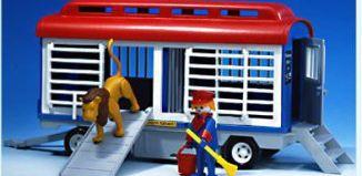 Playmobil - 3514v2 - Circus Lion Train Car