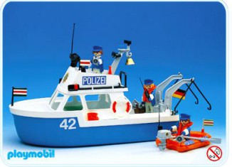 Playmobil - Policeboat 3539 history