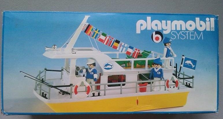 Playmobil 3540v1 - Houseboat - Box