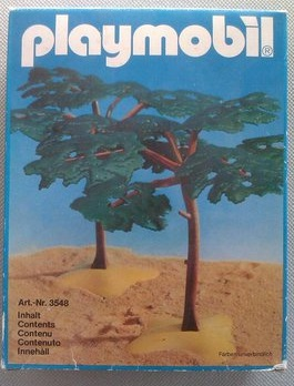 Playmobil 3548 - 2 Acacia Trees - Box