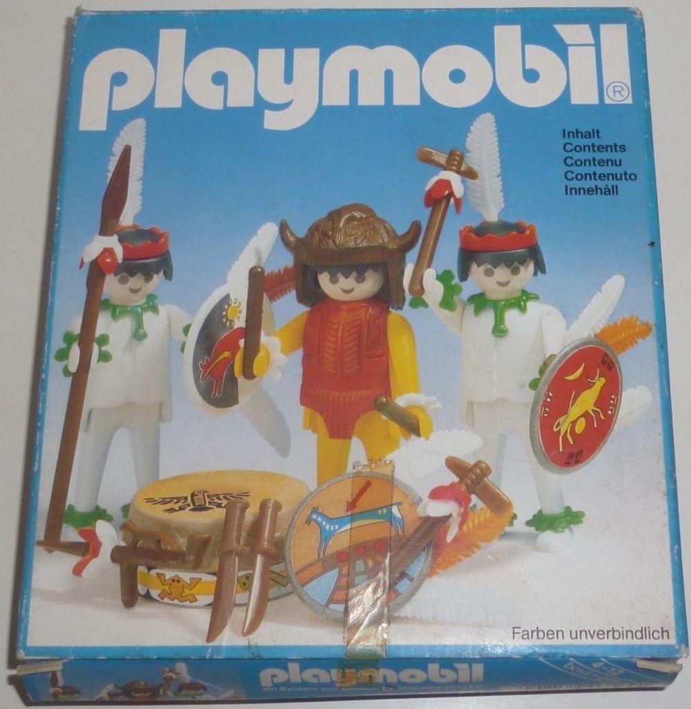 Playmobil 3569 - Medicine Man and Warriors - Box