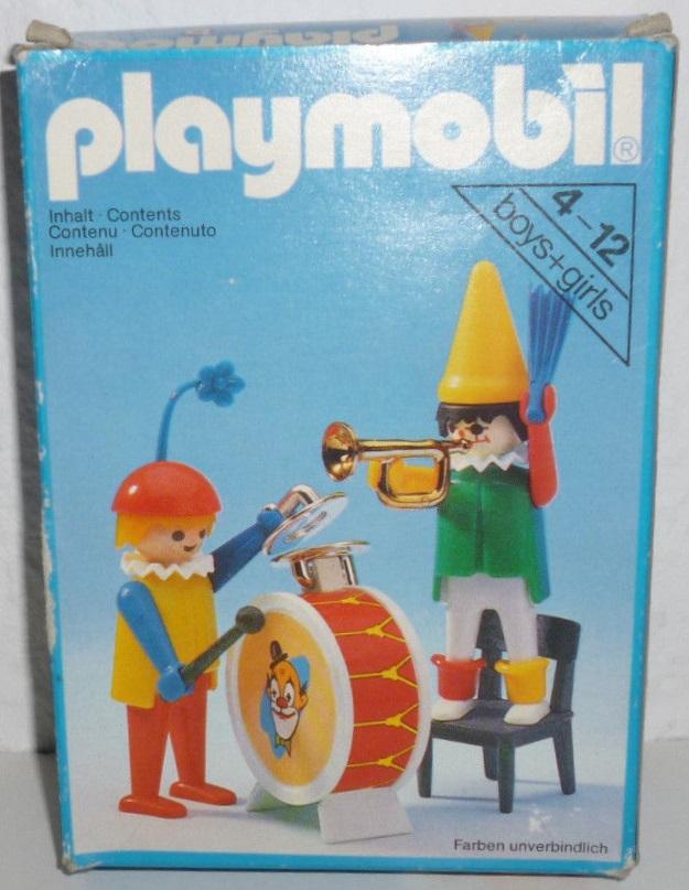 Playmobil 3578 - Clowns musicians - Box