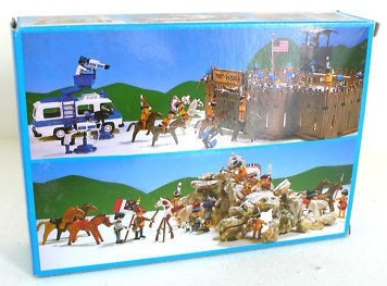 Playmobil 3610 - US Cavalry - Back