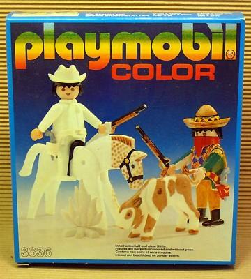 Playmobil 3636 - Cowboys - Box