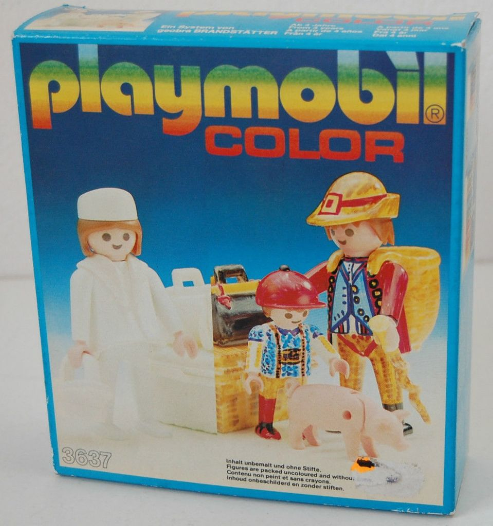 Playmobil 3637 - Train passengers - Box